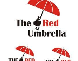 #56 for Design a Logo for The Red Umbrella - A Vegetarian Food Truck by z4vron