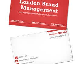 #4 untuk Business Card Design for London Brand Management oleh sdollar