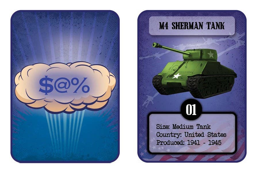 Contest Entry #                                        6                                      for                                         Trading Card Game Template Design
