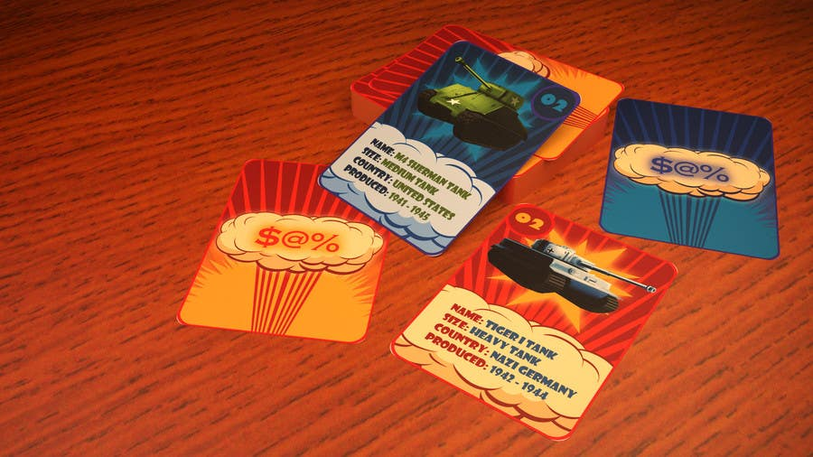 Konkurrenceindlæg #                                        12                                      for                                         Trading Card Game Template Design