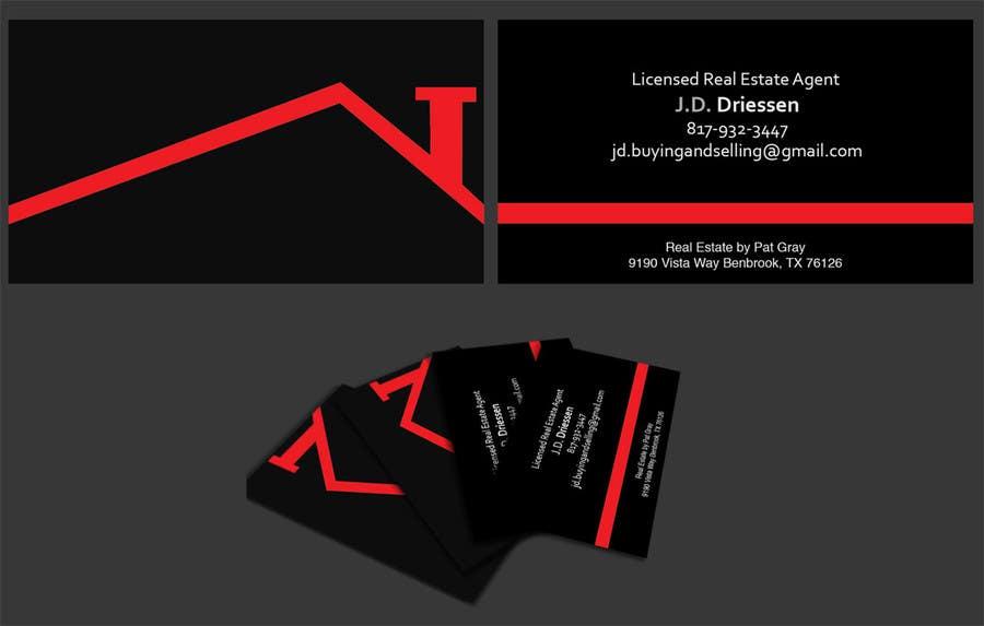 Bài tham dự cuộc thi #                                        4                                      cho                                         Design a Creative Business Card for Realtor