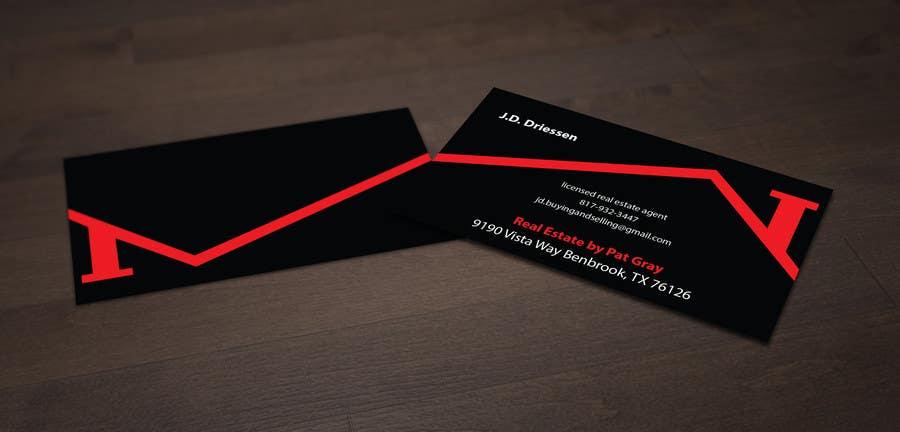 Bài tham dự cuộc thi #                                        12                                      cho                                         Design a Creative Business Card for Realtor
