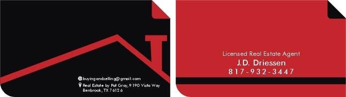 Bài tham dự cuộc thi #                                        6                                      cho                                         Design a Creative Business Card for Realtor