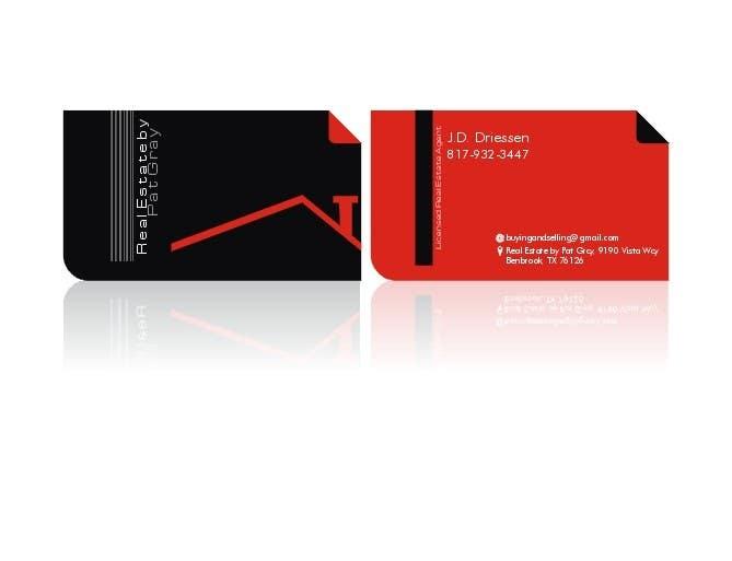 Bài tham dự cuộc thi #                                        7                                      cho                                         Design a Creative Business Card for Realtor