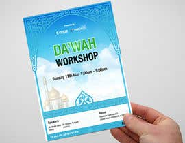 "nº 18 pour ""Da'wah Workshop"" - Islamic Flyer par adnandesign043"