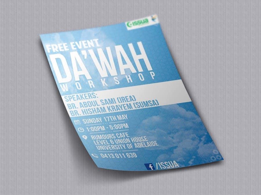 """Konkurrenceindlæg #47 for """"Da'wah Workshop"""" - Islamic Flyer"""