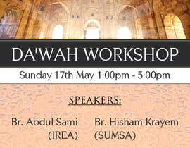 "#39 for ""Da'wah Workshop"" - Islamic Flyer af teAmGrafic"