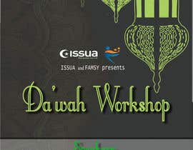 "nº 25 pour ""Da'wah Workshop"" - Islamic Flyer par mzakir88"