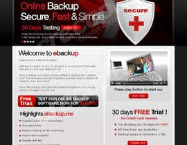 #46 para Website Design for Ebackup.me Online Backup Solution de crecepts
