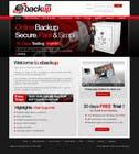 Graphic Design Contest Entry #45 for Website Design for Ebackup.me Online Backup Solution