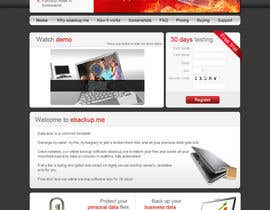 #91 pentru Website Design for Ebackup.me Online Backup Solution de către VIKKISoft