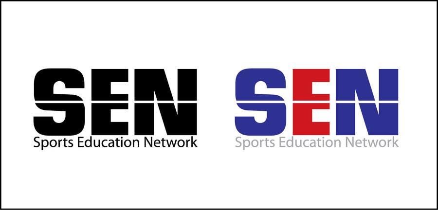 "Bài tham dự cuộc thi #                                        53                                      cho                                         Design a Logo for company name ""Sports Education Network"", in short SEN."