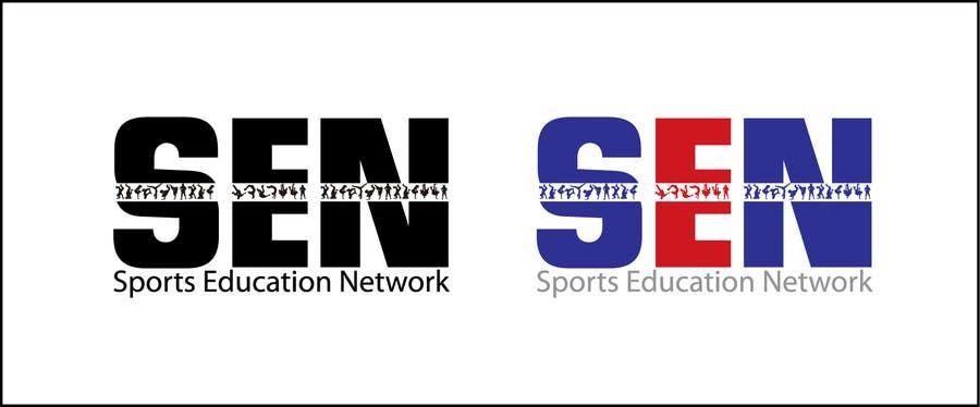 "Bài tham dự cuộc thi #                                        56                                      cho                                         Design a Logo for company name ""Sports Education Network"", in short SEN."