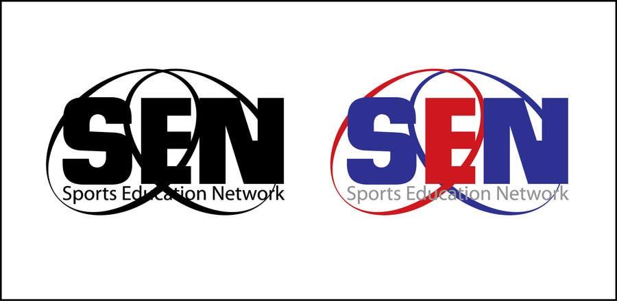 "Bài tham dự cuộc thi #                                        62                                      cho                                         Design a Logo for company name ""Sports Education Network"", in short SEN."