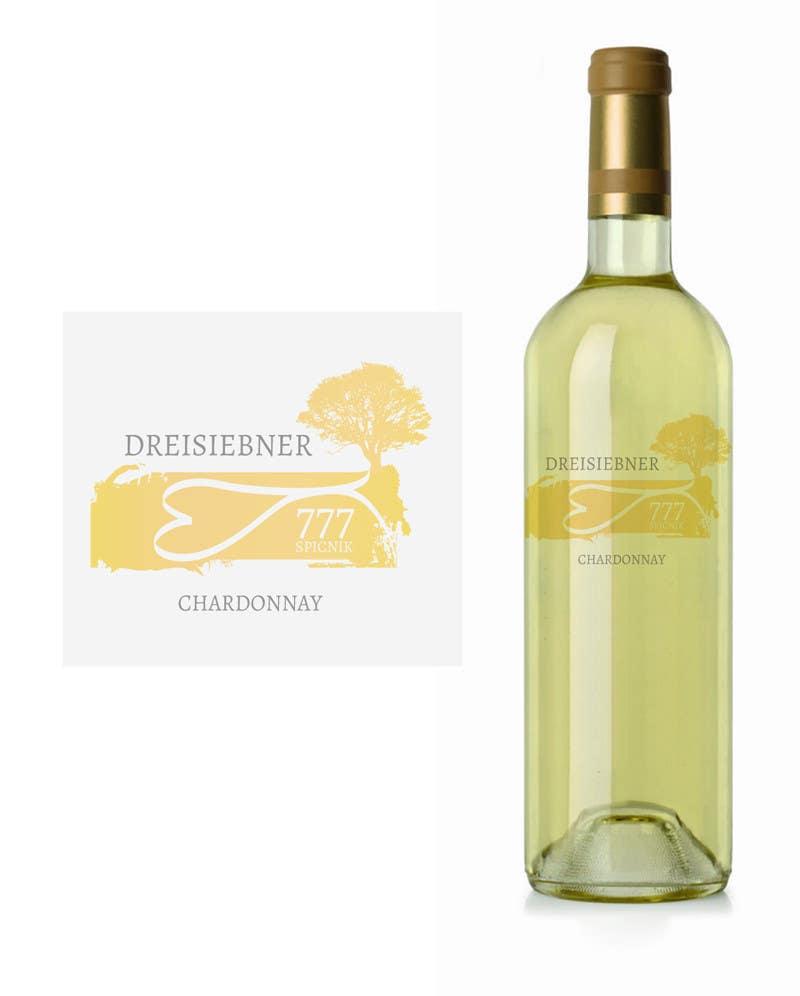 Penyertaan Peraduan #41 untuk Graphic Design for Wine label