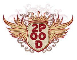 nº 46 pour Design a Logo for a 2POOD shirt par fuentesmarvel
