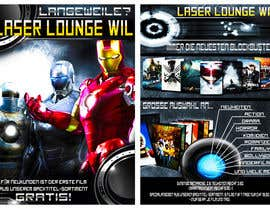 #40 for Design a Flyer for DVD Rental named LASER LOUNGE af jatacs