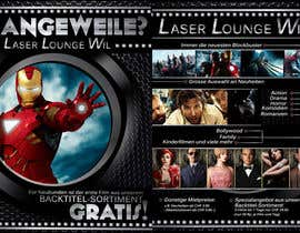 #16 para Design a Flyer for DVD Rental named LASER LOUNGE por xcerlow