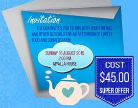 #14 for High Tea Invitation by LampangITPlus