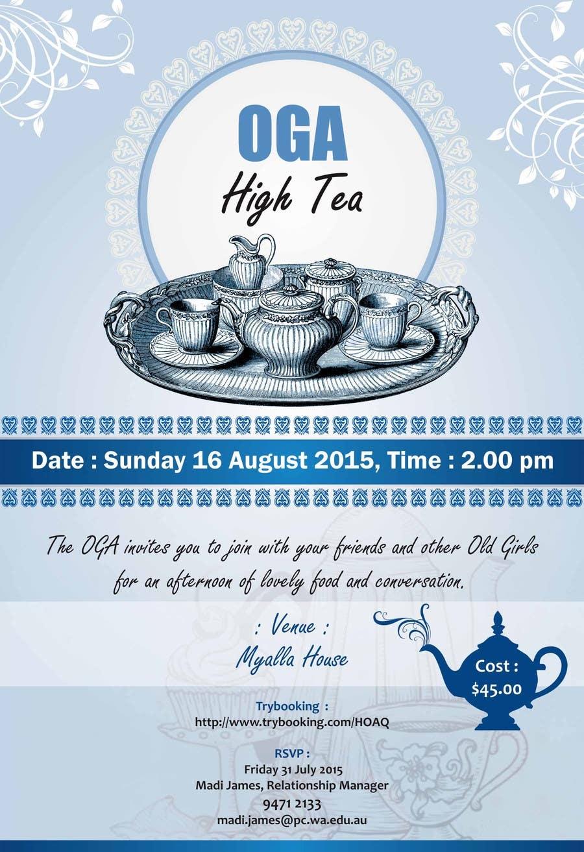 Kilpailutyö #9 kilpailussa High Tea Invitation
