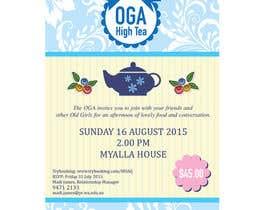 Nro 10 kilpailuun High Tea Invitation käyttäjältä ngahoang