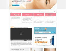 #37 untuk Build a Website for a new revolutionary cosmetic treatment oleh logoforwin