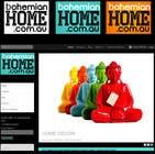 Graphic Design Конкурсная работа №90 для LOGO design for www.bohemianhome.com.au