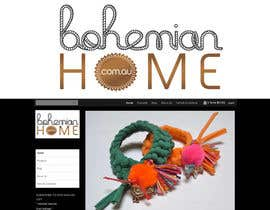 #172 för LOGO design for www.bohemianhome.com.au av dyeth