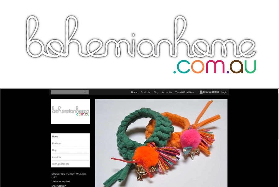 Contest Entry #                                        177                                      for                                         LOGO design for www.bohemianhome.com.au