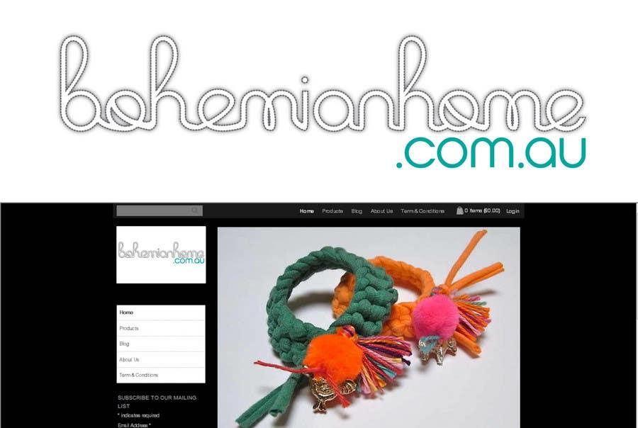 Contest Entry #                                        176                                      for                                         LOGO design for www.bohemianhome.com.au