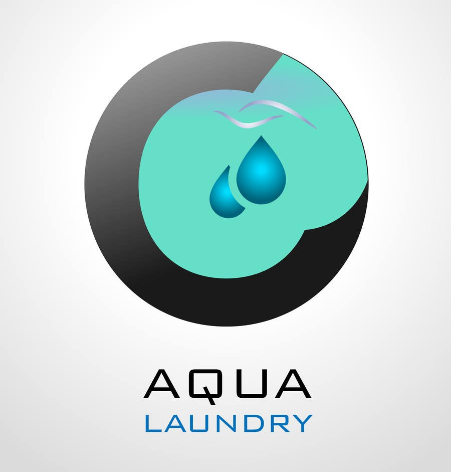 Konkurrenceindlæg #                                        29                                      for                                         Design a Logo for AQUA LAUNDRY & DRY CLEANING