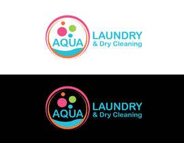 #47 for Design a Logo for AQUA LAUNDRY & DRY CLEANING af babugmunna
