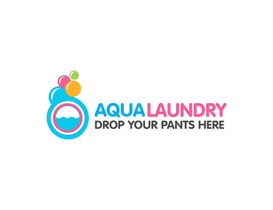 Contest Entry #                                        35                                      for                                         Design a Logo for AQUA LAUNDRY & DRY CLEANING