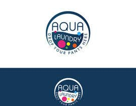 #66 for Design a Logo for AQUA LAUNDRY & DRY CLEANING af Spector01
