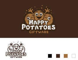 Spector01 tarafından Design a Logo for Happy Potatoes Gift store için no 12