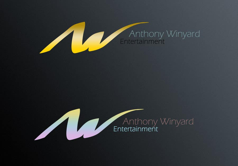 Konkurrenceindlæg #                                        134                                      for                                         Graphic Design- Company logo for Anthony Winyard Entertainment