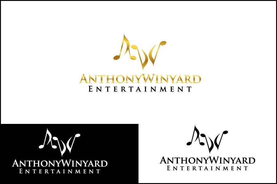 Konkurrenceindlæg #                                        196                                      for                                         Graphic Design- Company logo for Anthony Winyard Entertainment