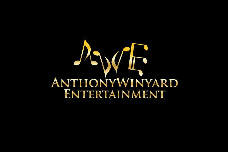Konkurrenceindlæg #                                        36                                      for                                         Graphic Design- Company logo for Anthony Winyard Entertainment
