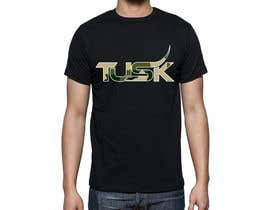 #38 for Design a T-Shirt for TUSK af Sanja3003