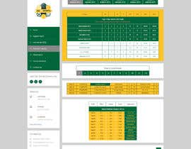 #6 para Re-Create Standings Page for Sports Site por BushaF