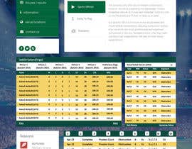 #9 for Re-Create Standings Page for Sports Site by rginfosystems