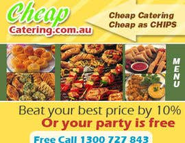 nº 20 pour Design a Banner for cheapcatering.com.au par kskumar2010