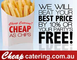 nº 11 pour Design a Banner for cheapcatering.com.au par Hamwizen