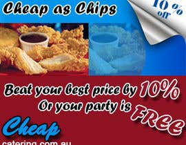 #16 for Design a Banner for cheapcatering.com.au by TechnosparkTech