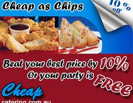 nº 17 pour Design a Banner for cheapcatering.com.au par TechnosparkTech