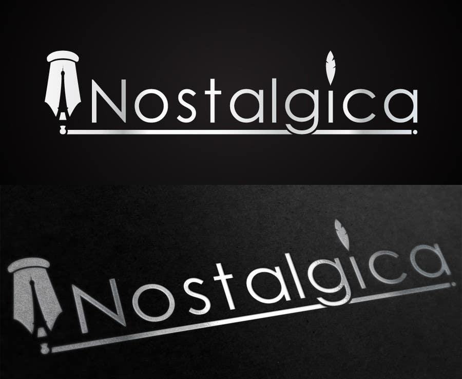 "Proposition n°24 du concours Design a Logo for ""Nostalgica"""