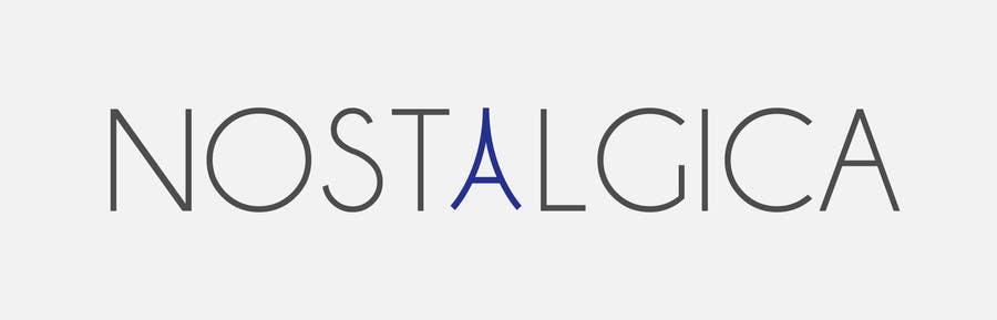 "Proposition n°62 du concours Design a Logo for ""Nostalgica"""