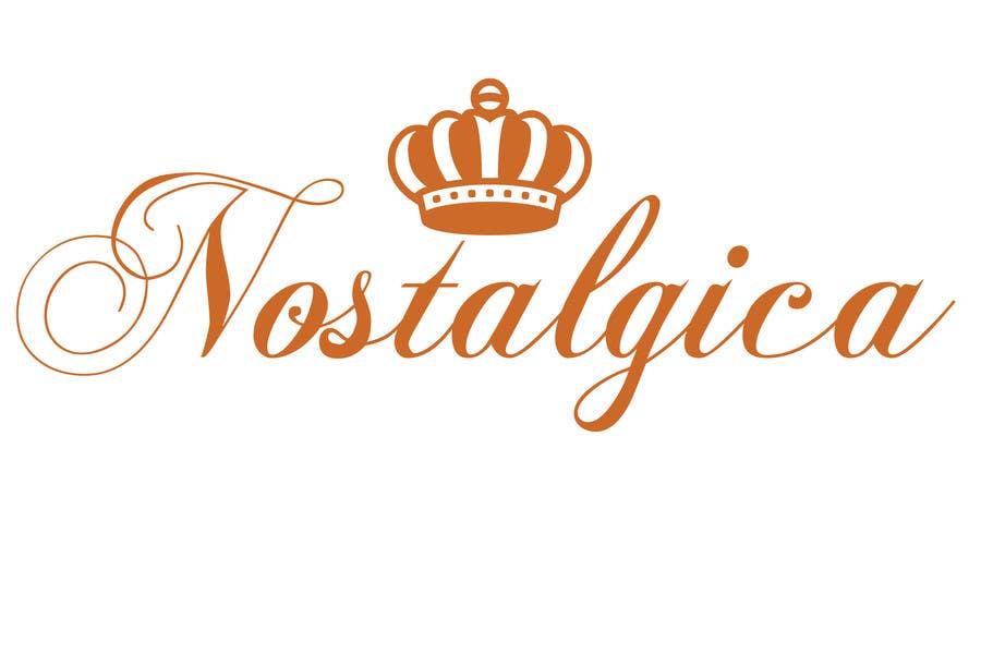 "Proposition n°56 du concours Design a Logo for ""Nostalgica"""