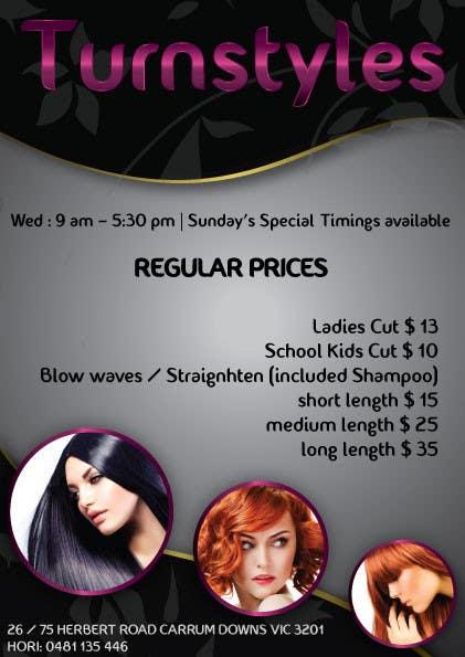 Bài tham dự cuộc thi #5 cho Design a Flyer for Hair Salon