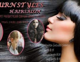 #6 para Design a Flyer for Hair Salon por juditabadurina